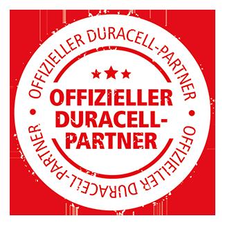 Offizieller Duracell-Partner